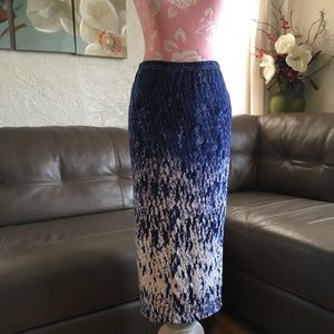 Buffalo Pencil Blue Skirt